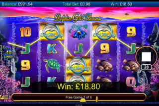 Dolphin Gold Stellar Jackpots Mobile Slot Free Spins