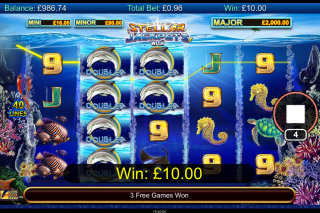 Dolphin Gold Stellar Jackpots Mobile Slot Machine