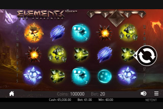 Elements Mobile Slot Machine