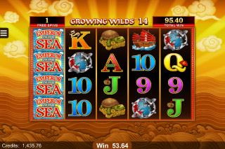Emperor of The Sea Mobile Slot Free Spins