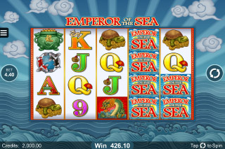 Emperor of The Sea Mobile Slot Game