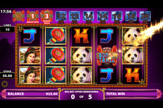 Emperor's Gold Mobile Slot Big Bet Option
