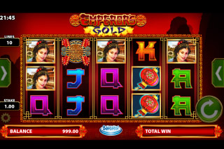 Emperor's Gold Mobile Slot Game