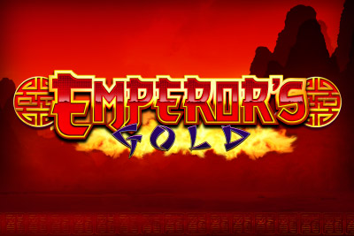 Emperor's Gold Mobile Slot Logo