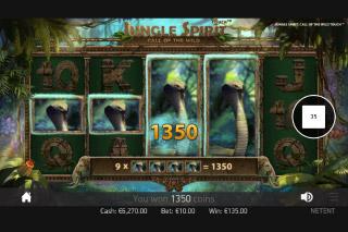 Jungle Spirit Mobile Slot Expanding Symbols