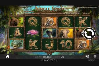Jungle Spirit Mobile Slot Game