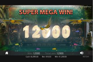 Jungle Spirit Mobile Slot Super Mega Win