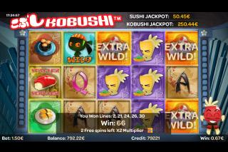 Kobushi Mobile Slot Free Spins
