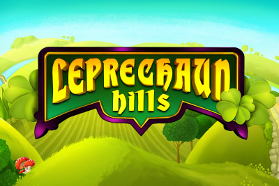 Leprechaun Hills Mobile Slot Logo