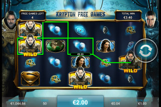 Man of Steel Mobile Slot Kryptonian Bonus