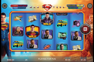 Man of Steel Mobile Slot Game