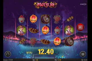 Matsuri Mobile Slot Wilds