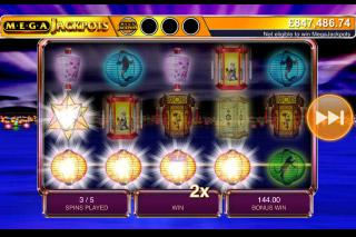 MegaJackpots Star Lanterns Mobile Slot Free Spins