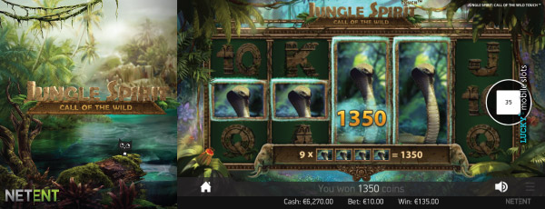 NetEnt Touch Jungle Spirit Slot