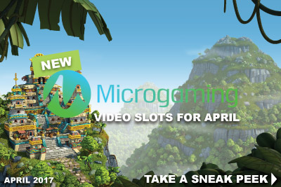 New Microgaming Mobiel Slots In April 2017