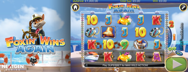Foxin Wins Again Mobile Slot By NextGen