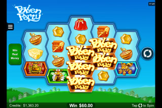 Pollen Party Mobile Slot Wilds