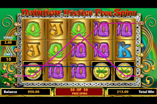 Rainbow Riches Free Spins Mobile Slot Big Win