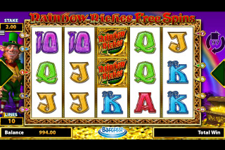 Rainbow Riches Free Spins Mobile Slot Game