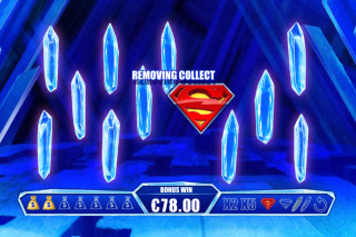 Superman The Movie Mobile Slot Bonus Game
