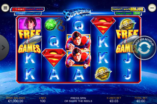 Superman The Movie Slot Machine
