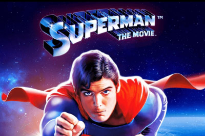 Superman The Movie Mobile Slot Logo