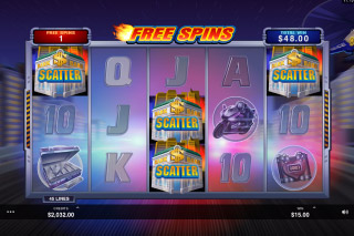 The Heat Is On Mobile Slot Bonus Scatters