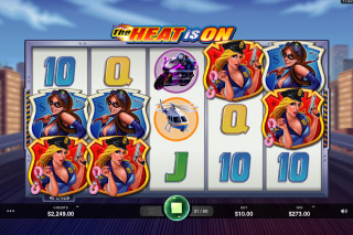 The Heat Is On Mobile Slot Game