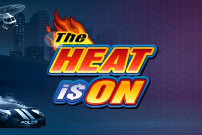 The Heat Is On Mobile Slot Logo