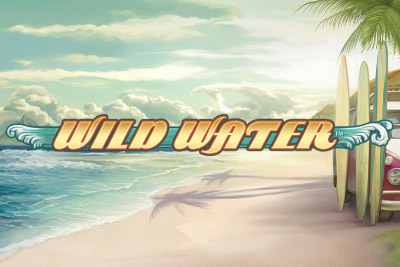 Wilds Water Mobile Slot Logo
