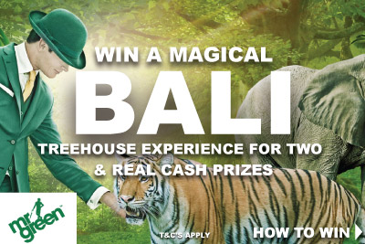 Win A Bali Trip & Real Cash Prizes
