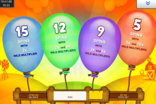 Balloonies Farm Mobile Slot Free Spins Choice