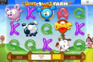 Balloonies Farm Mobile Slot Game