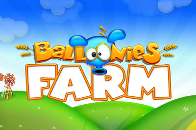 Balloonies Farm Mobile Slot Logo