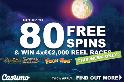 Get Your Casumo Free Spins & Win Real Money This Week