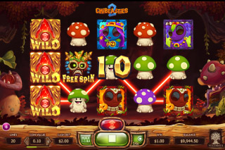 Chibeasties 2 Mobile Slot Expanding Wild Realm