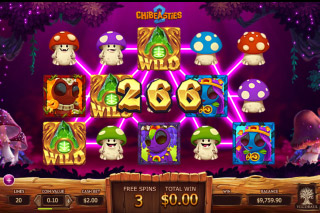 Chibeasties 2 Mobile Slot Free Spins