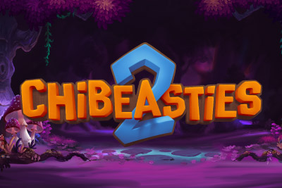 Chibeasties 2 Mobile Slot Logo
