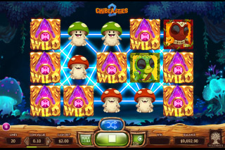 Chibeasties 2 Mobile Slot Spreading Wilds Combo