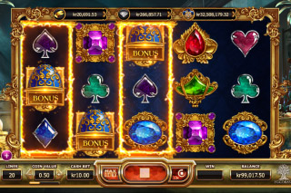 Empire Fortune Mobile Slot Hold Feature