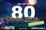Get Your No Wagering Guts Free Spins On Hansel & Gretel