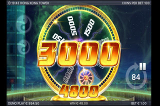 Hong Kong Tower Mobile Slot Bonus Win