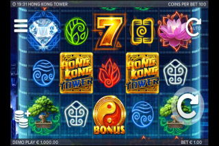 Hong Kong Tower Mobile Slot Game