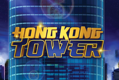 Hong Kong Tower Mobile Slot Logo