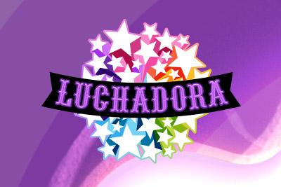 Luchadora Mobile Slot Logo