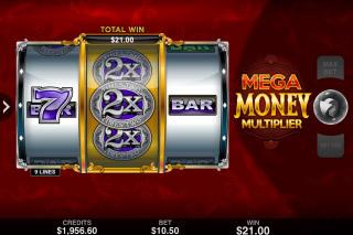 Mega Money Multiplier Mobile Slot Game Win