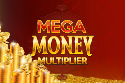 Mega Money Multiplier Mobile Slot Logo