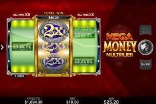 Mega Money Multiplier Mobile Slot Win