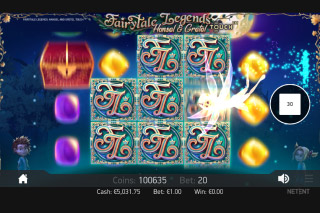 Fairytale Legends Hansel & Gretel Mobile Slot Fairy Bonus