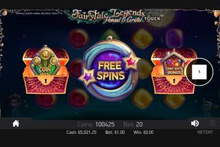 Fairytale Legends Hansel & Gretel Mobile Slot Free Spins